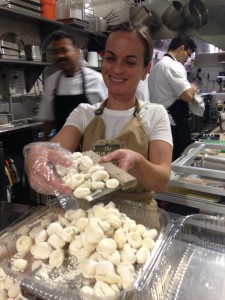 Fresh gnocchi from The Pasta Shoppe