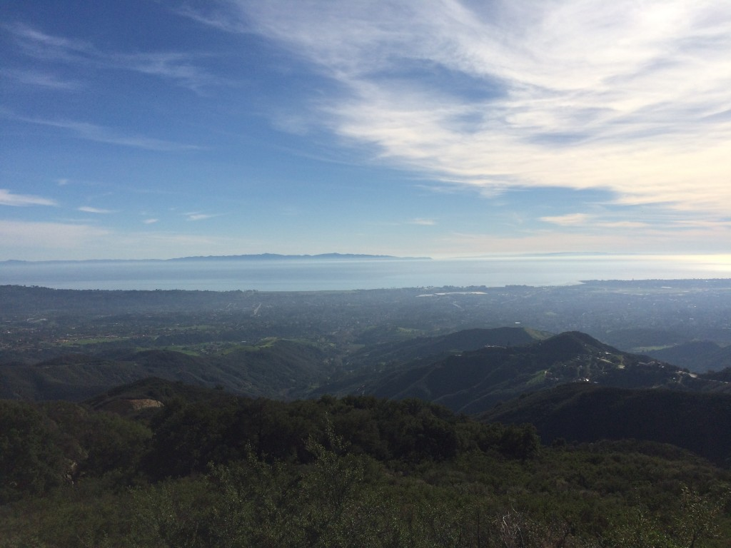 """We never get tired of the Santa Barbara view"" Picture by Adele De Batz"