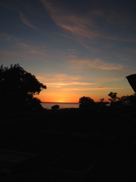 """Sunset from a beach house in Carp"" Picture by Erin Maloney"