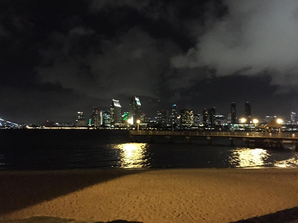 """Downtown San Diego by Night! A fantastic view from Coronado Island. Perfect Weekend to relax and explore."" -Steven Wagener"