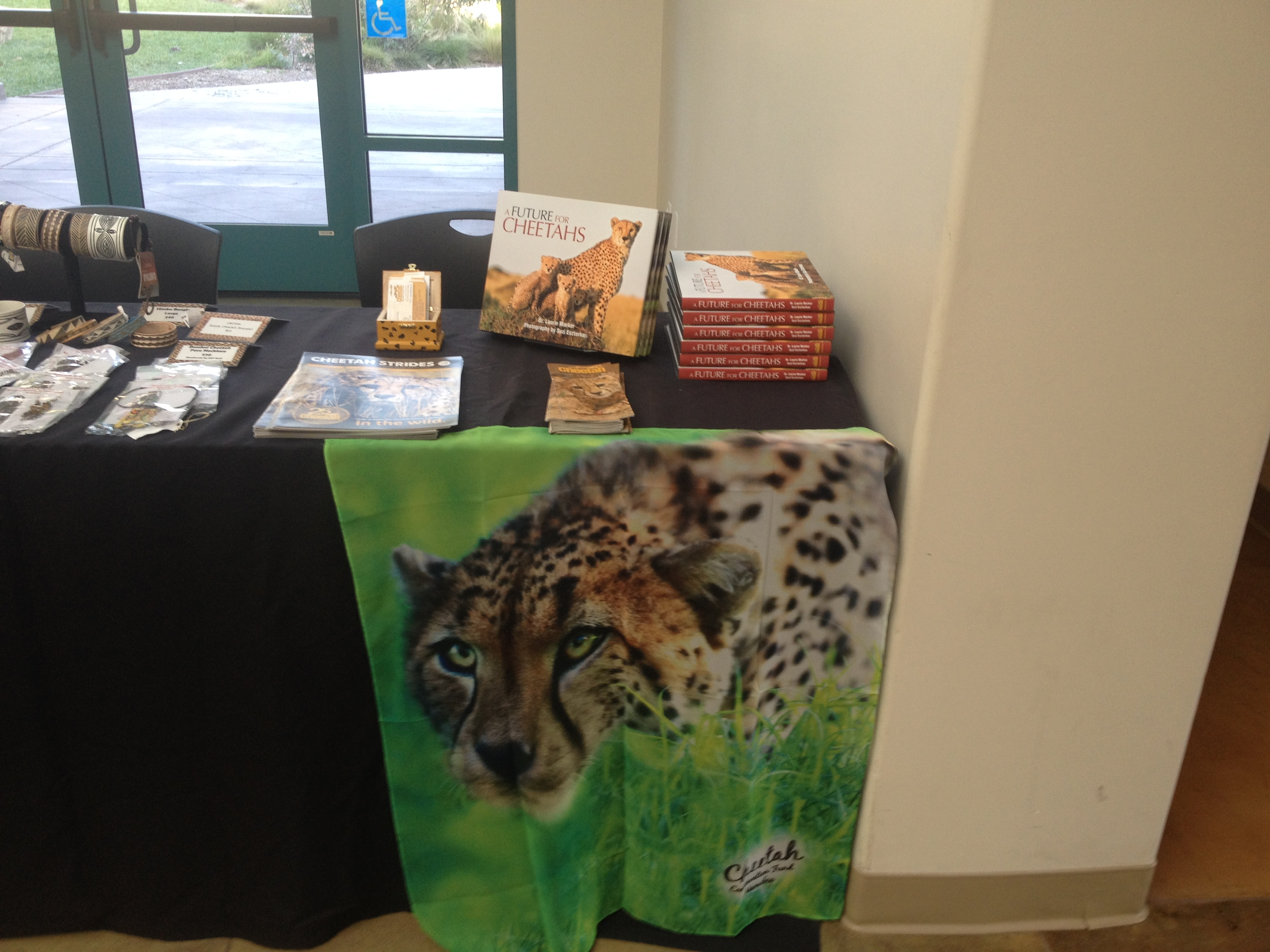 Dr. Laurie Marker's book A Future for Cheetahs .
