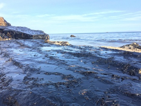 Refugio State Beach Oil Spill