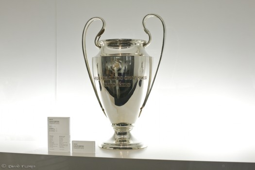 The biggest prize in club soccer is the Champions League Trophy