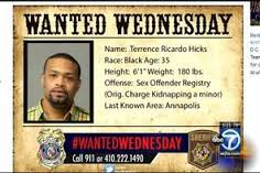#WantedWednesday assists various Sheriff Departments in the capture of criminals.