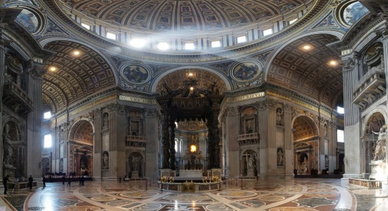 Saint Peters Basilica In Rome