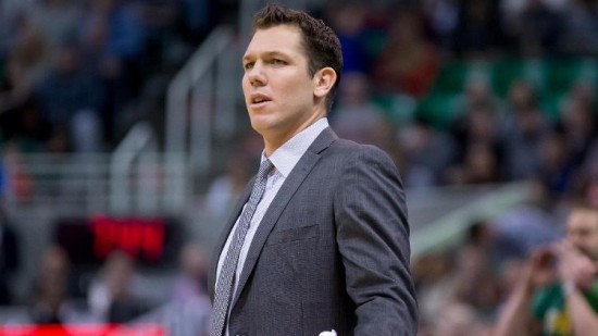 Los Angeles new head coach, Luke Walton