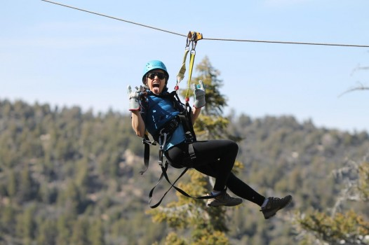 Zip-lining in Big Bear -Lia Durham