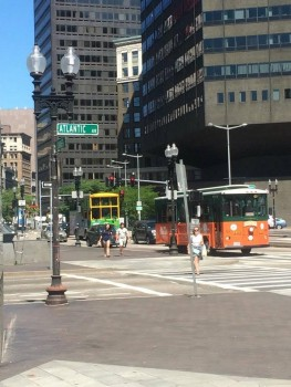 A sunny morning in the Financial District of Boston resembles the glory days of Atlantic City. -Erik Oscar Carleson