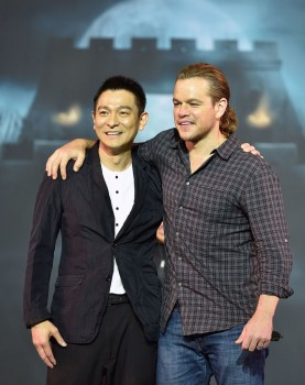 'The Great Wall' - Press Conference Featuring: Matt Damon, Andy Lau Where: Beijing, China When: 02 Jul 2015 Credit: SIPA/WENN.com **Only available for publication in Germany**