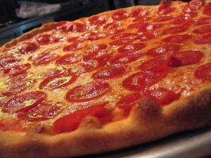Pepperoni Pizza, like the one I enjoyed on Monday. (Creative Commons)