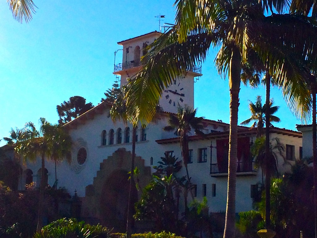 The Santa Barbara Courthouse 2015 | Photo courtesy of Adele de Batz