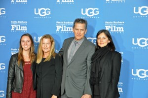 Frances deGruy, Mimi deGruy, Tim Matheson, and wife Megan./Photo Courtesy of EdHat.com