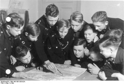 Hitler Jugend (Youth): Counted 8.8 million members at its peak, many of whom were send to the front to compensate the enormous losses (Photo: Creative Commons)