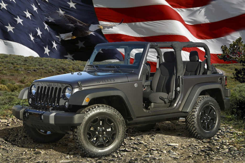 2014 Jeep Wrangler Willys Wheeler Edition