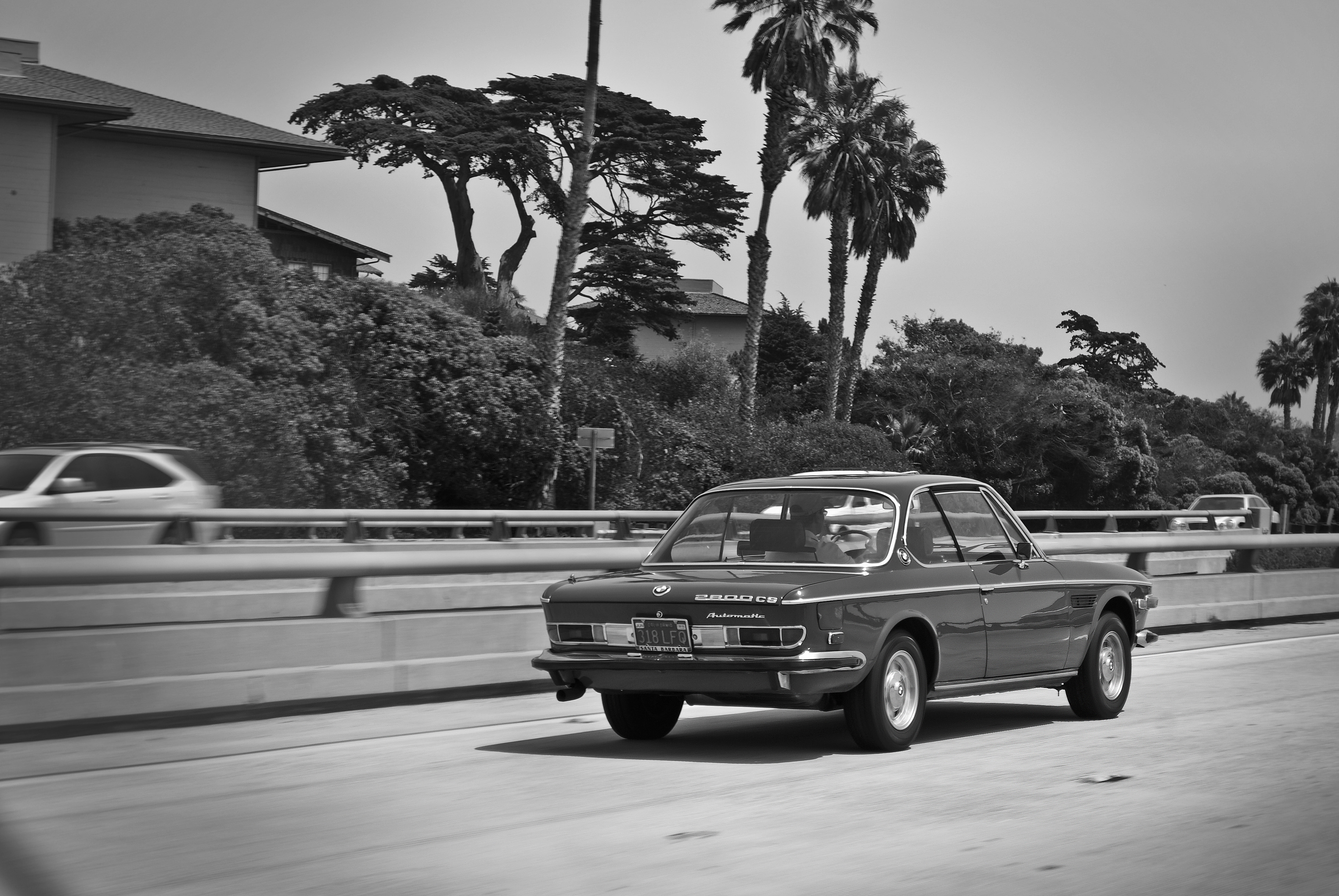Nothing is more classy than a vintage commute down Highway 101. -Nick Salsbury