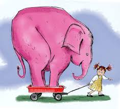 My imaginary Pink Elephant