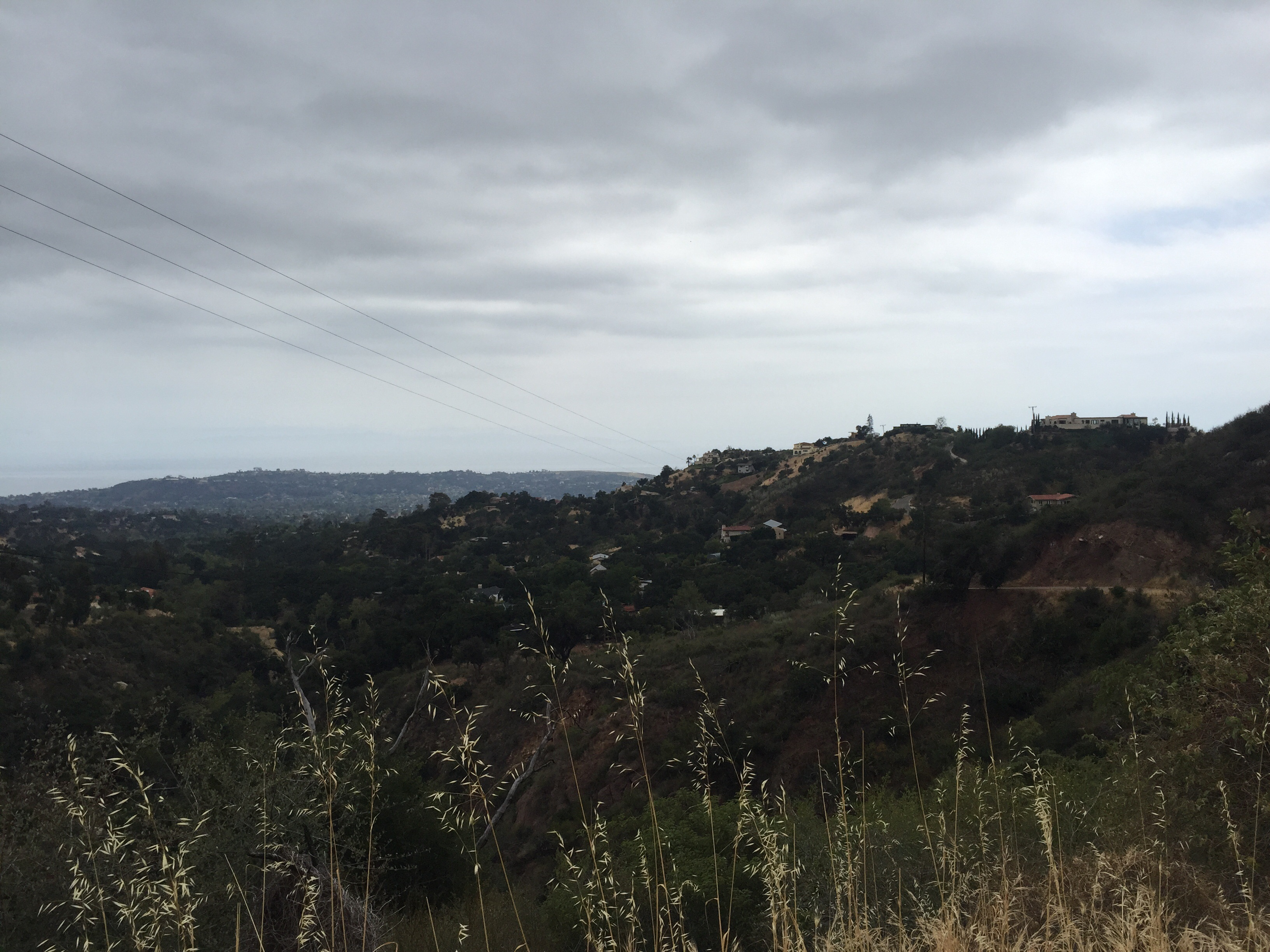 Rainy days and gray clouds calls for a Red Rocks hike. Here's a POV perspective from the top of the world in beautiful Santa Barbara. - Niklas Knoph