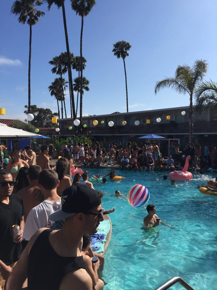 While the quarter is nearly over and the time at Antioch comes to an end, it is important to enjoy some memorable moments with friends. Pool Party at Goodland hotel in Goleta. -Steven Wagener