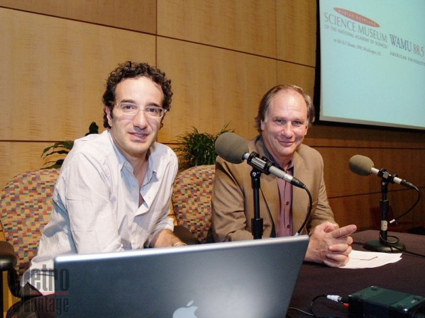 Radiolab Hosts Jab Abumrad and Robert Krulwich
