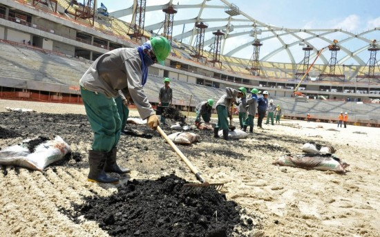 In Qatar 1400 workers already died, more than 4000 are expected by 2022.