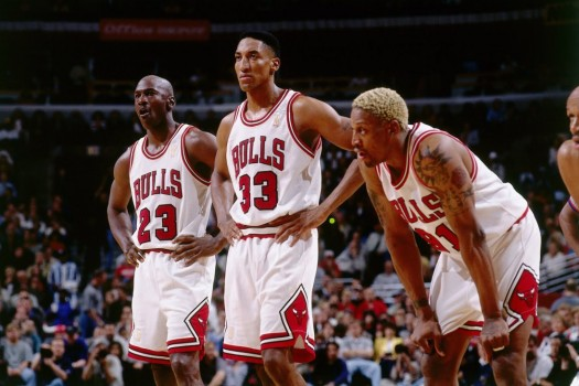 Chicago Bulls 90's Trio-Jordan, Pippin, and Rodman