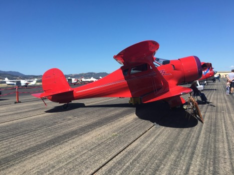 Airplane day 2016 at the Santa Ynez Valley airport. -Jessica Kennedy