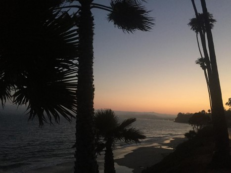 There's really nothing quite like watching the sunset at Butterfly beach with good friends. -Alicia Briggs