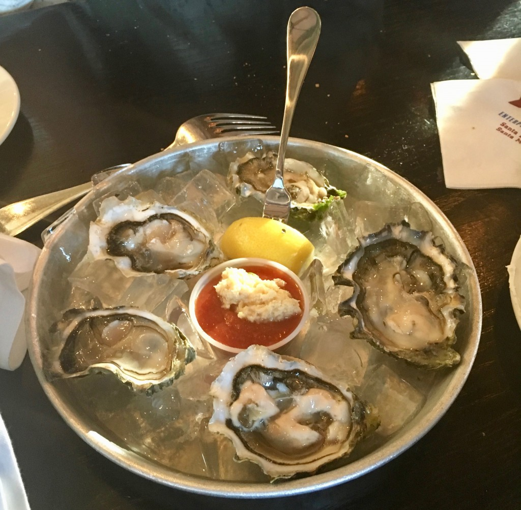 When in doubt- Grab some oysters. We are so fortunate to live in a place where we always have the freshest seafood - Jillian Fowler